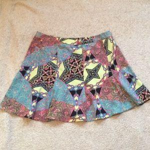 Beautiful Nasty gal skater skirt size large